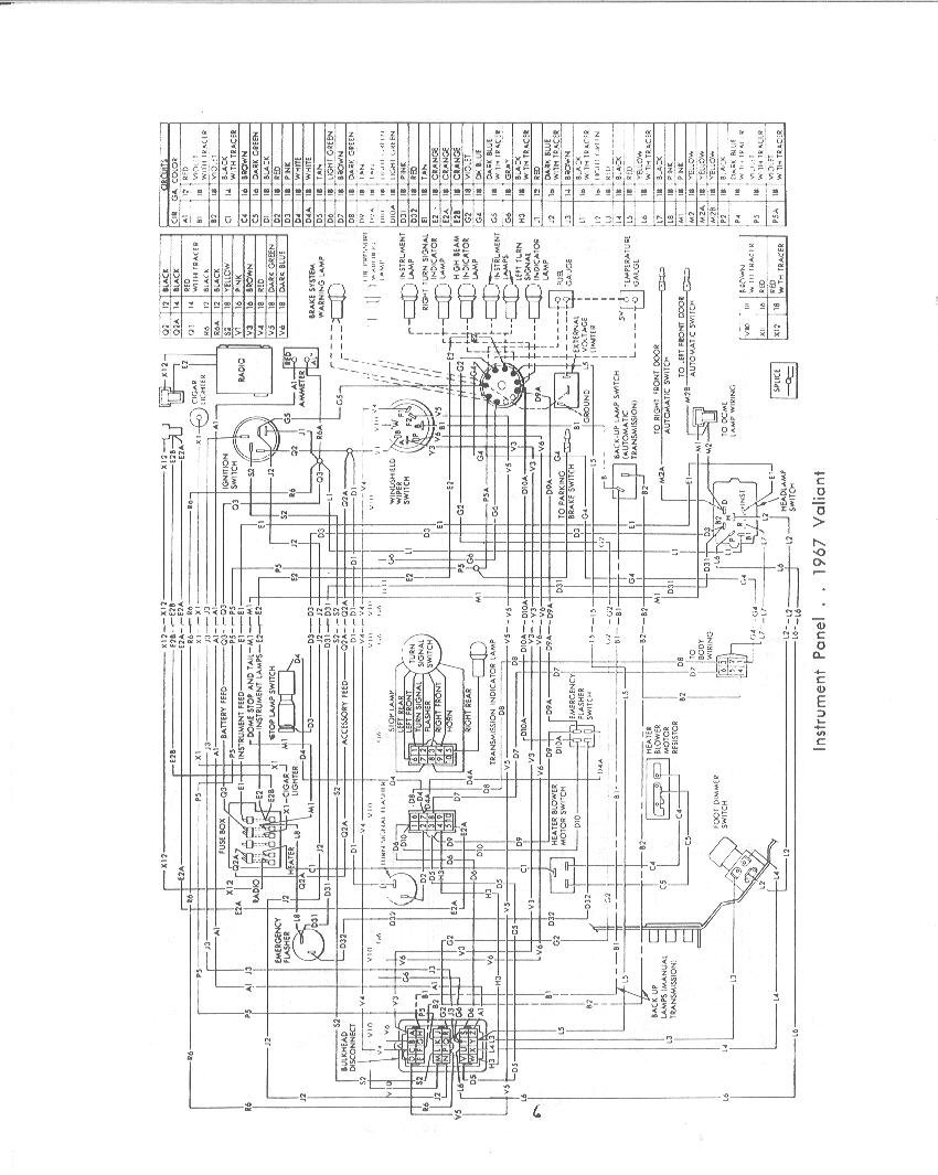 1968 Barracuda Wiring Diagram Great Design Of Chevy Get Free Image About Diagrams Dash Harness