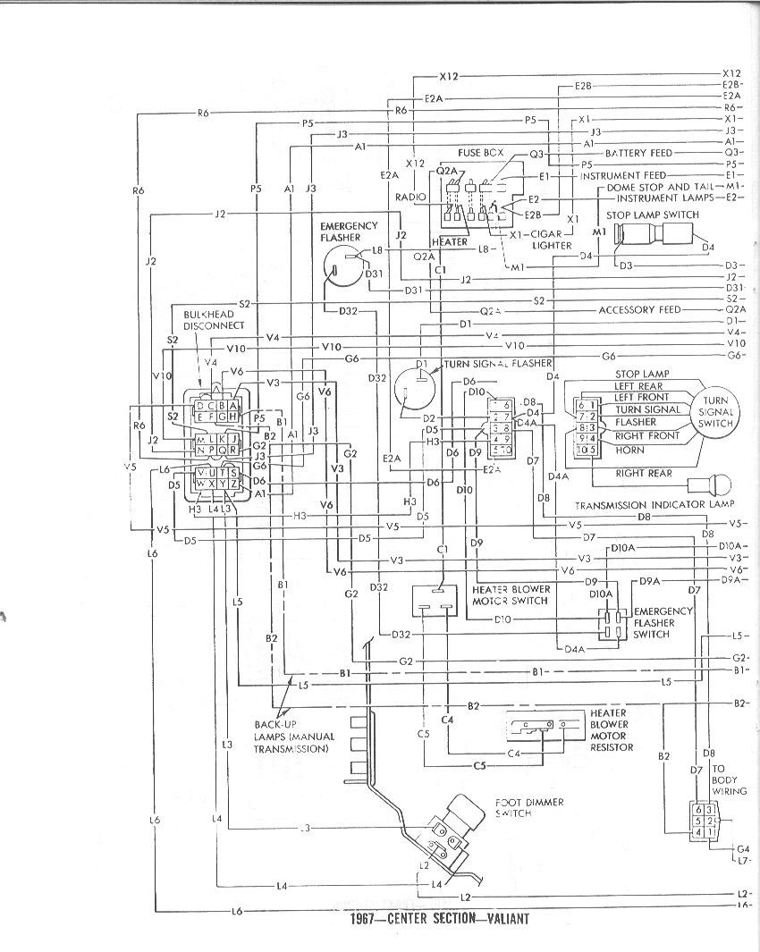 1967 Barracuda Wiring Diagram Will Be A Thing Plymouth Dash 1968 Get Free Image About Harness
